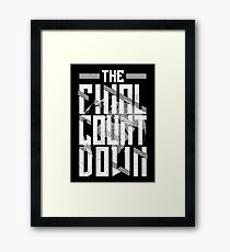 The Final Countdown Framed Print