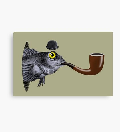 Magritte Fish Canvas Print