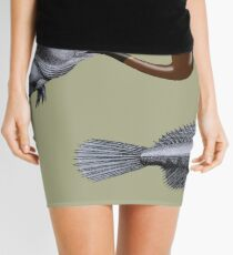 Magritte Fish Mini Skirt