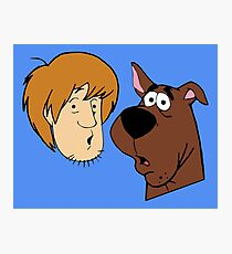 Shaggy And Scooby Photographic Print