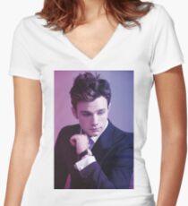 Chris Colfer Women's Fitted V-Neck T-Shirt