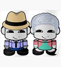 Grandpa & Grandma Yi O'BABYBOT Toy Robot 1.0 Poster