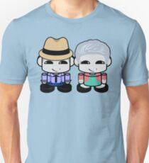 Grandpa & Grandma Yi O'BABYBOT Toy Robot 1.0 Slim Fit T-Shirt