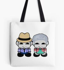 Grandpa & Grandma Yi O'BABYBOT Toy Robot 1.0 Tote Bag