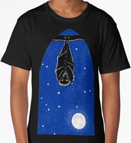 Bat in the Window Long T-Shirt
