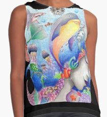 Lost At Sea Contrast Tank