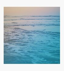 Cotton Candy Waves Photographic Print