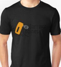 baking - start your engines Unisex T-Shirt