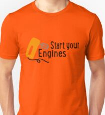 baking - start your engines Unisex T-Shirt