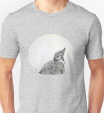 Magpie Lark Print Oriental Zen Minimalist - Sumie ink australian bird Unisex T-Shirt