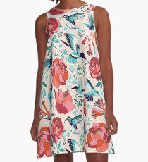 Hummingbird summerdance A-Line Dress