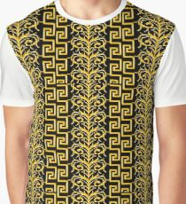 baroque1 gold Graphic T-Shirt