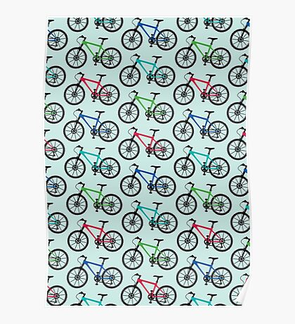 mountain bike multi   Poster
