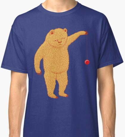 Bear with Yoyo Skills Classic T-Shirt