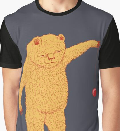 Bear with Yoyo Skills Graphic T-Shirt