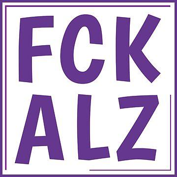 FCK ALZ Sticker by fckalz