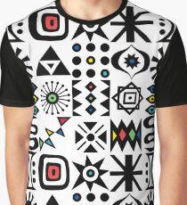 Flash Forward white Graphic T-Shirt