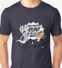 Rick and Morty on a Shirt Unisex T-Shirt