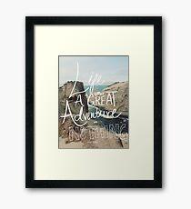 Great Adventure Framed Print