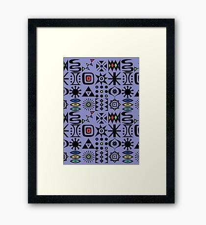 Flash Forward Framed Print