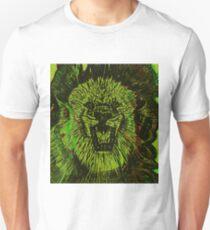 yellow roaring lion T-Shirt