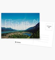 Let's Run Away VIII Postcards