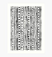 Ink Stripe Art Print