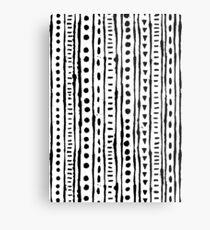 Ink Stripe Metal Print