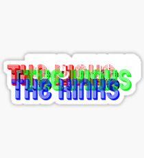The Kinks Misprinted Sticker