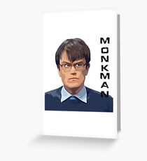 University Challenge Personalities - The Monkman Greeting Card