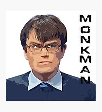 University Challenge Personalities - The Monkman Photographic Print