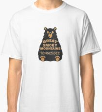 BEAR GREAT SMOKY MOUNTAINS NATIONAL PARK TENNESSEE EXPLORE NATURE Classic T-Shirt