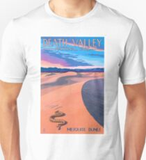 Travel Poster - Death Valley National Park Unisex T-Shirt