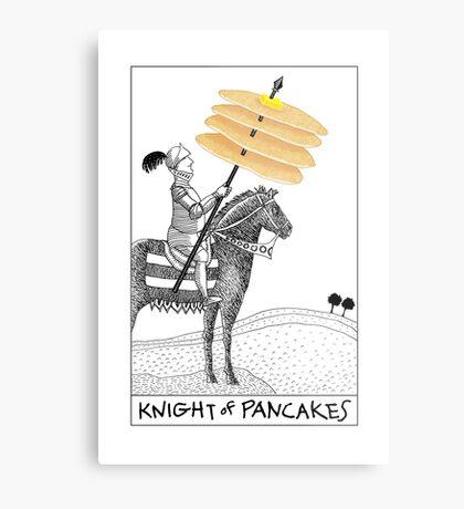 Knight of Pancakes Breakfast Tarot Metal Print