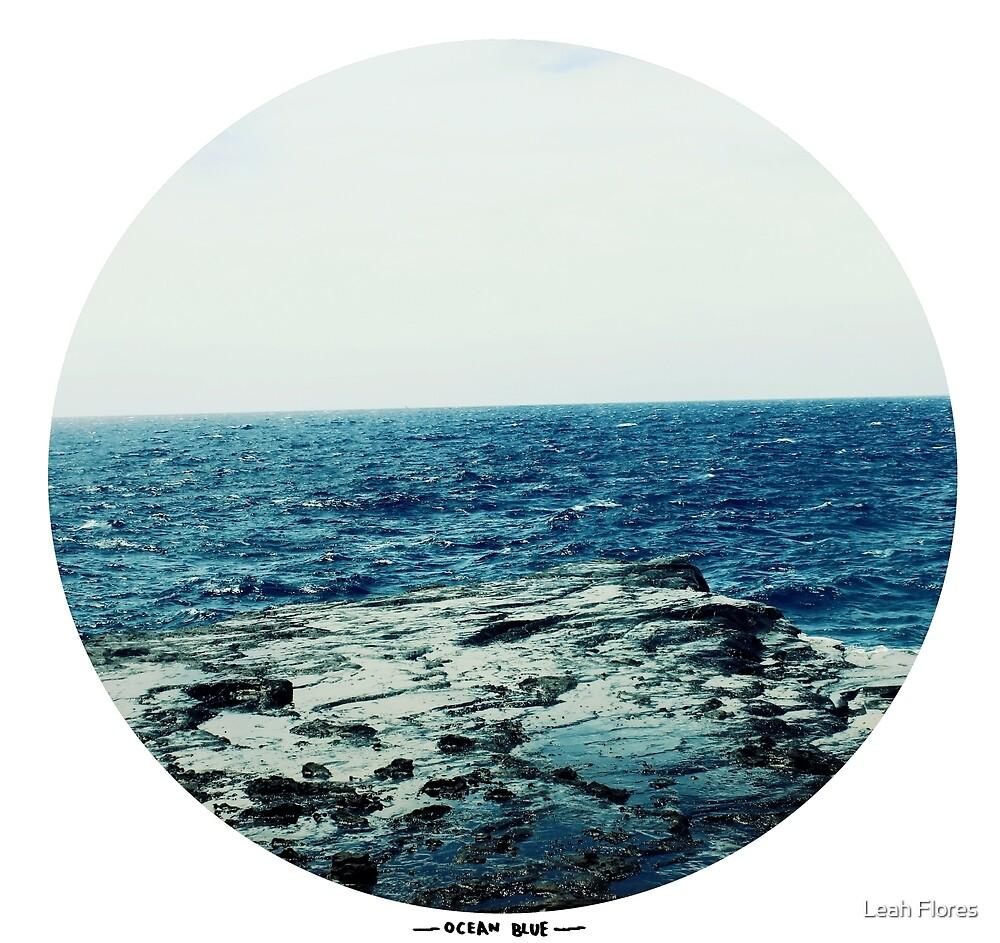 Ocean Blue by Leah Flores