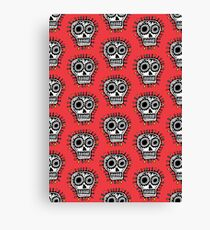 Sugar Skull Fun Canvas Print