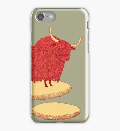Yak and Stepping Stones iPhone Case/Skin