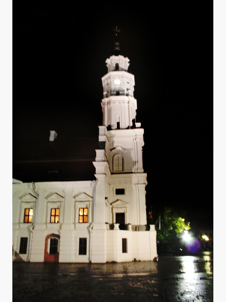 The Old Town in the Kaunas by Antanas