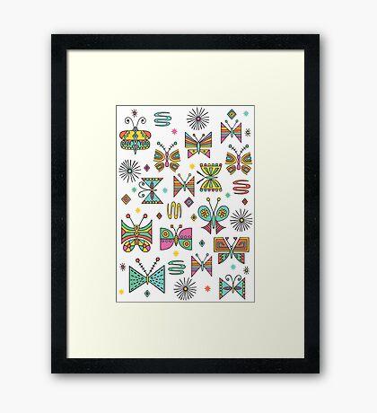 Butterfly Joy Framed Print
