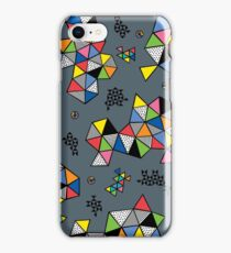 Edgewise grey iPhone Case/Skin
