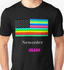 Joy Division New ORDER Technique EP 1989 Flag tour Promo Shirt Unisex T-Shirt