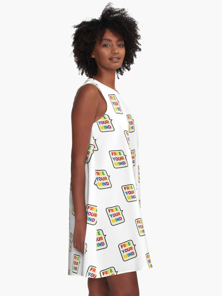 Alternate view of FREE YOUR MIND BUBBLE A-Line Dress