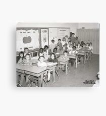 TRIGG COUNTY ELEMENTARY, OCT. 29, 1970 Canvas Print