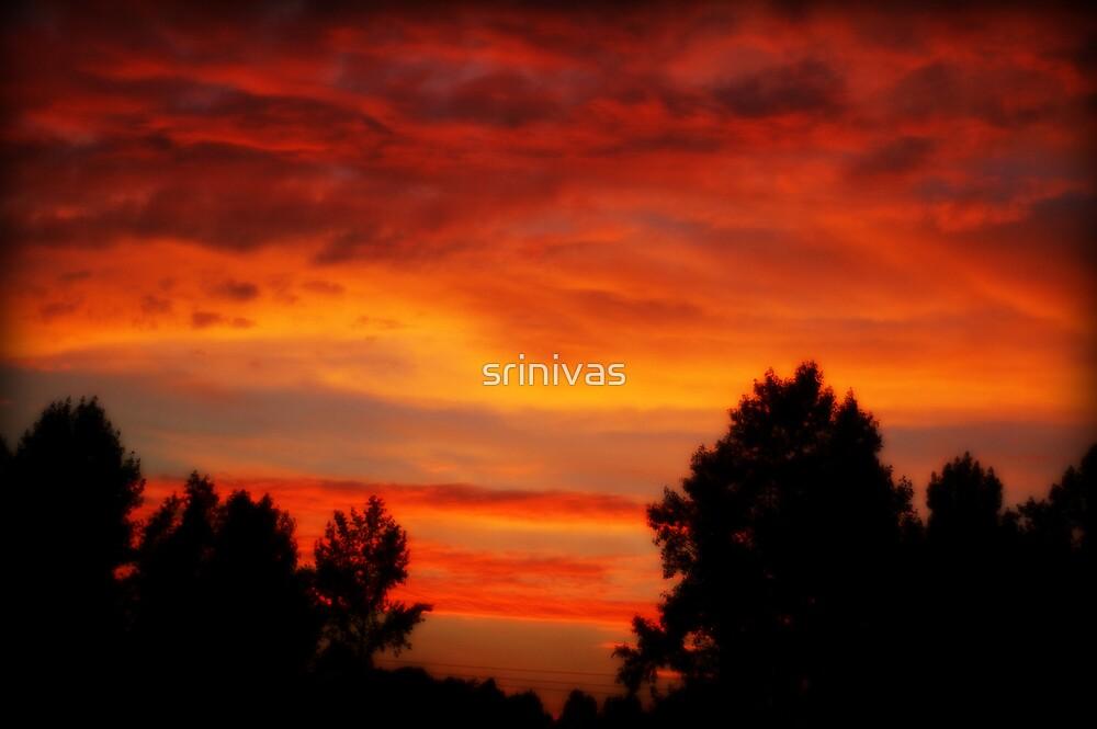 sunset by srinivas