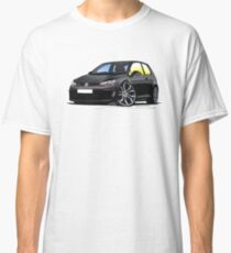 VW Golf (Mk7) GTi Black Classic T-Shirt
