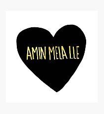 "Amin Mela Lle: ""I Love You"" in Elvish Photographic Print"
