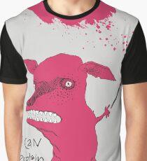 Bad Explanation Art Dog Graphic T-Shirt