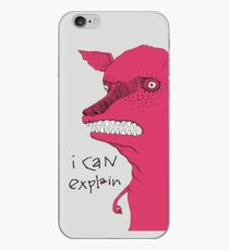 Bad Explanation Art Dog iPhone Case