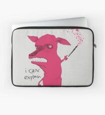 Bad Explanation Art Dog Laptop Sleeve