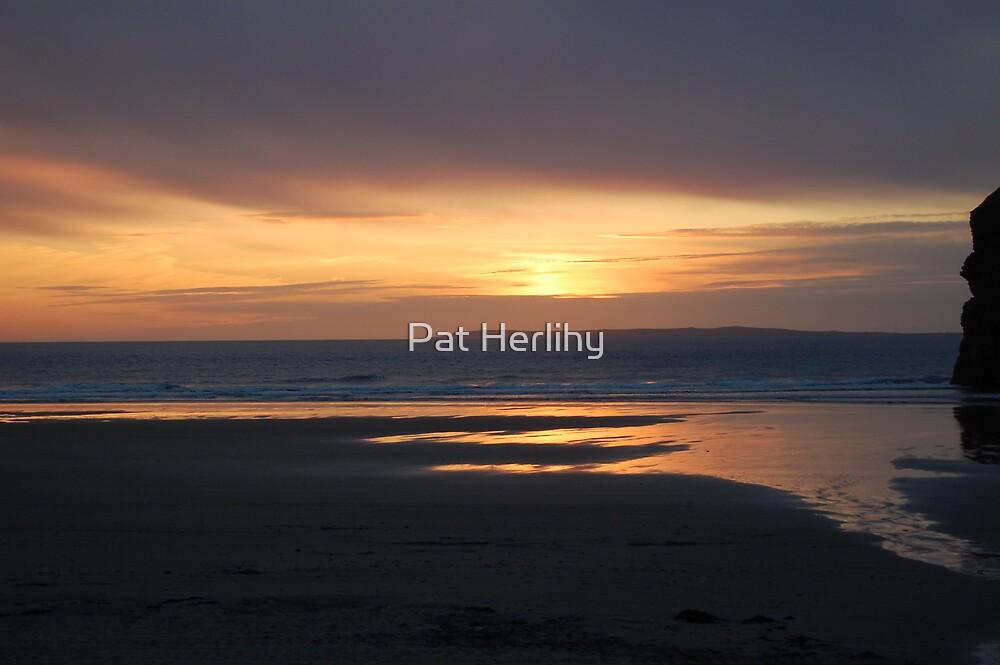Ballybunnion Sunset 2 by Pat Herlihy
